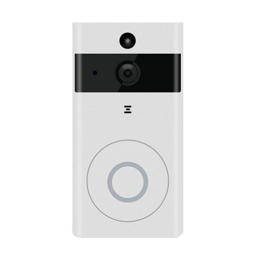 TEEPAO Video Türsprechanlage, WLAN Türklingel mit Kamera, 720p HD Video Gegensprechanlage mit Echtzeit-Video, Zwei-Wege-Audio, Nachtsicht, PIR Bewegungserkennung und App für IOS und Android