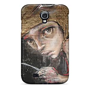 IxA282LkTU Anti-scratch Cases Covers JohnasonWillema Protective Herakut Cases For Galaxy S4