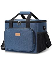 Lifewit Torba chłodząca, torba piknikowa, torba na lunch, torba termiczna, torba termoizolacyjna, torba do transportu żywności, 15-25 l