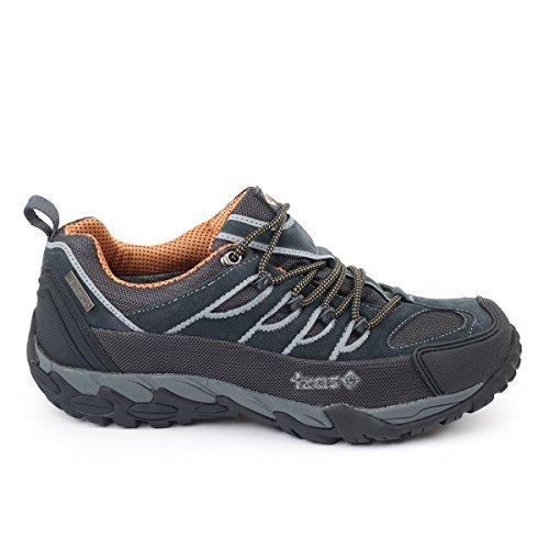Izas Serre - Zapatillas de trekking para hombre, color gris
