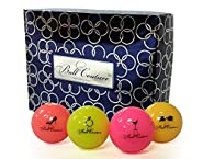 Ball Couture Fashionable Golf Balls for Women, 1 Dozen