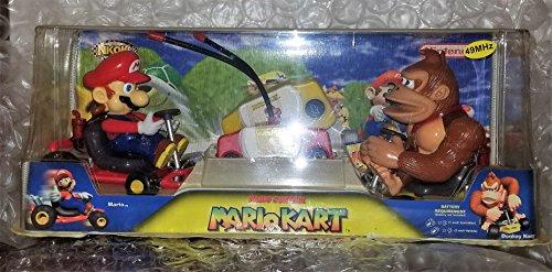 (Mario Kart & Donkey Kong Kart Radio Controled Set)