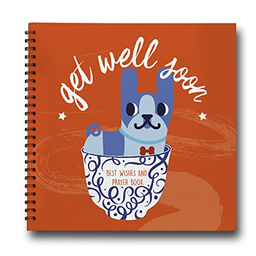 Well Wishes Book (Get Well Soon Card, Best Wishes Keepsake Book, Feeling Better and Cheering up. Laughter is the Best Recovery Funny, Inspiring Gift Messages for Kid, Children, Co-Workers, Sister, Brother, Dad or Mom)