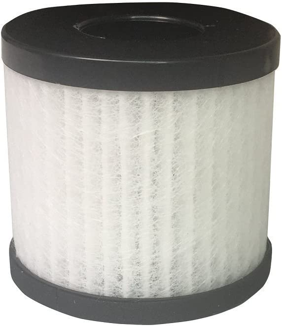Purificateur dair HEPA pour allergiques Silver Air Cleaner Assainisseur Parfait pour Office Car Bureau et Chambre Purificateur dair Retirer le pollen de poussi/ère fumeurs et les mauvaises odeurs