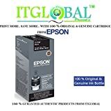 ITGlobal Present`s Epson T7741 Black Ink Bottle ( 140ml Ink Bottle )