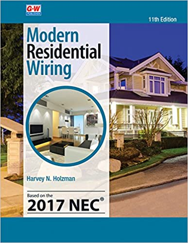 Prime Modern Residential Wiring Harvey N Holzman 9781631268960 Amazon Wiring Cloud Oideiuggs Outletorg
