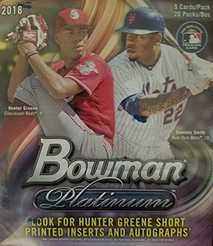 2018 Bowman Platinum Jumbo Hobby Box -Factory (Platinum Hobby Box)