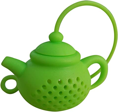 Silicone Handhold Tea Infuser Stainless Steel Handle Tea Strainer Filter Best