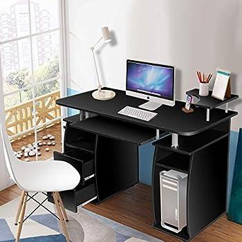 Amazon Com Tangkula Computer Desk Home Office Desk
