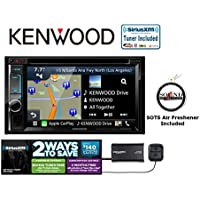 Kenwood eXcelon DNX693S DVD Navigation System with SiriusXM Satellite Radio SXV300v1 and a FREE SOTS Air Freshener