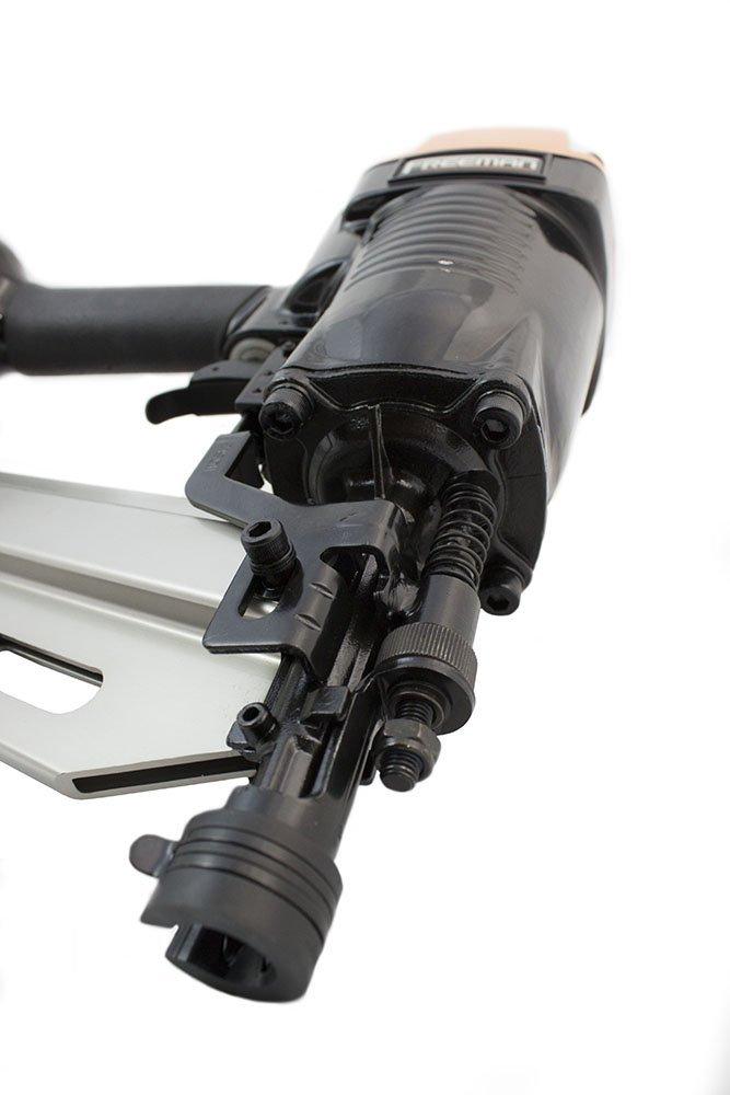 Freeman PFR2190 Clavadora para marco cabeza giratoria completa 24 ...
