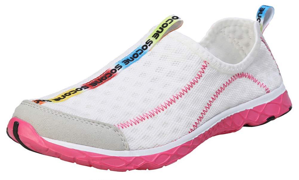 Zhuanglin Women's Quick Drying Aqua Water Shoes Size 6.5 B(M) US White,White,6.5 B(M) US by Zhuanglin