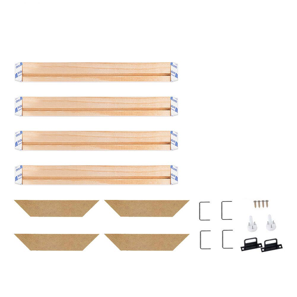 Modern Life Accessory,22x43//55x110cm Canvas Wood Stretcher Bars Painting Wooden Frames for Gallery Wrap Oil Painting Posters