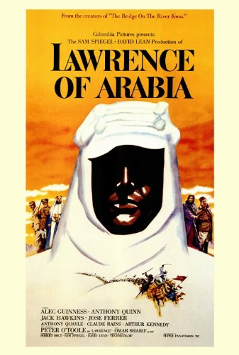 Lawrence of Arabia Peter O'Toole Face Movie Poster