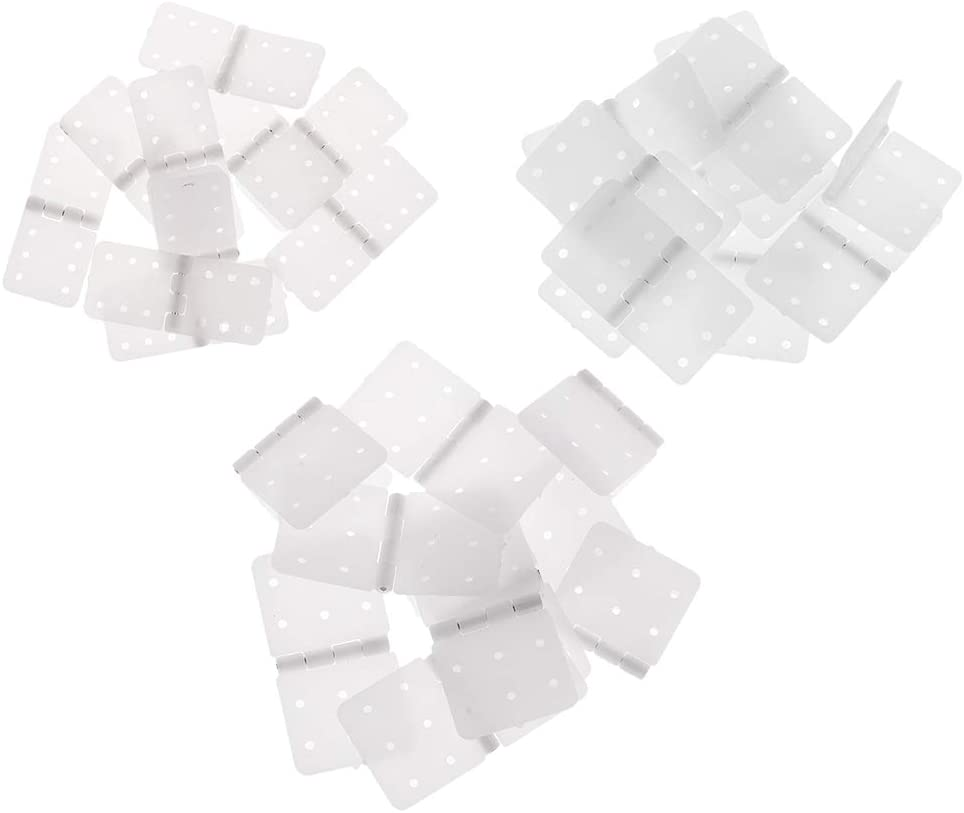 12x24mm 20pcs//lot Plastic Pinned Hinge for RC Radio Control Plane Fixed-Wing Parts