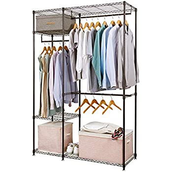 Amazon Com Little Tree Free Standing Closet Organizer