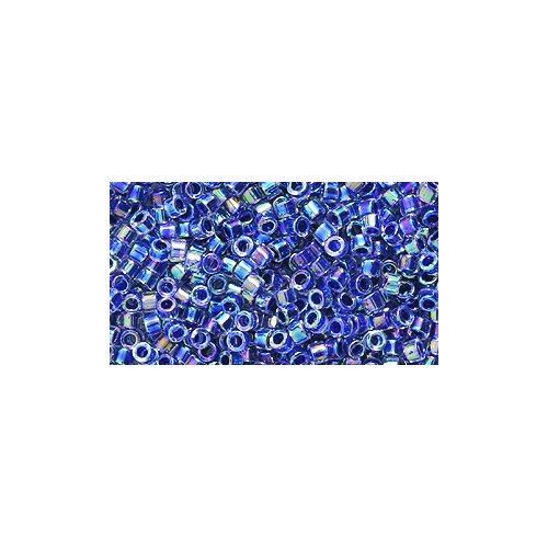 Price comparison product image Miyuki Delica Seed Bead 11 / 0 DB059,  Colorlined Amethyst Aurora Borealis Finish,  9-Gram / Pack