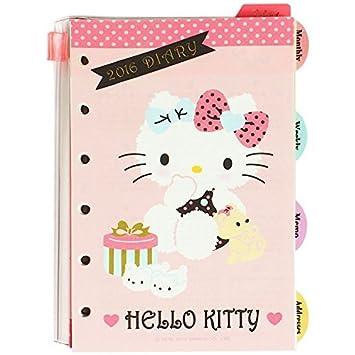 2016 Hello Kitty LV agenda organizador de recambios para ...