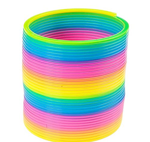 6'' JUMBO RAINBOW COIL SPRING, Case of 24 by DollarItemDirect (Image #1)