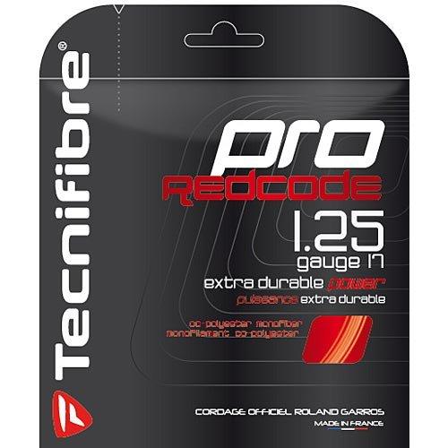 Tecnifibre Players (Tecnifibre Pro Red Code 17G Tennis String)