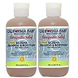 California Baby Shampoo Eczema, 8.5 Ounce (Pack of 2)