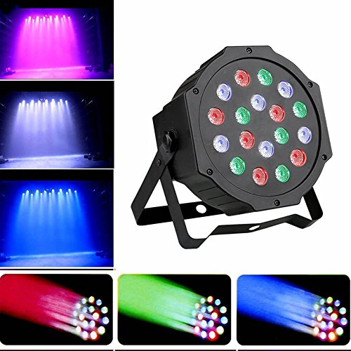 9Fshine Stage Lights18 LED Par Light,RGB stage light with remote and DMX controlled for DJ,bar,party