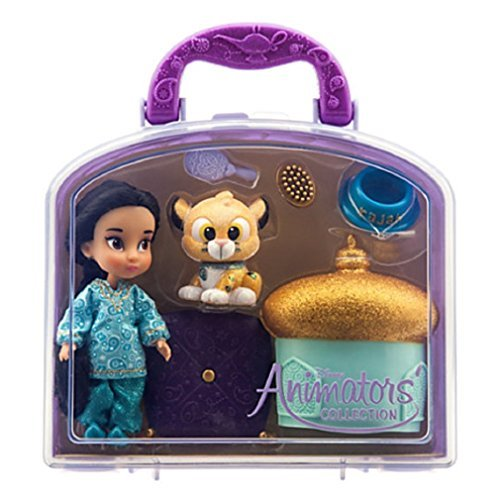 Disney - Disney Animators' Collection Jasmine Mini Doll Play Set - 5'' - New