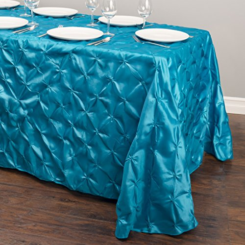 LinenTablecloth Rectangular Pinwheel Tablecloth, Caribbean, 90