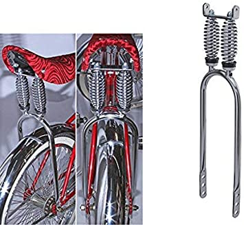 Fenix Cycles 20 Double Flat Twisted Lowrider Sissy Bar Chrome