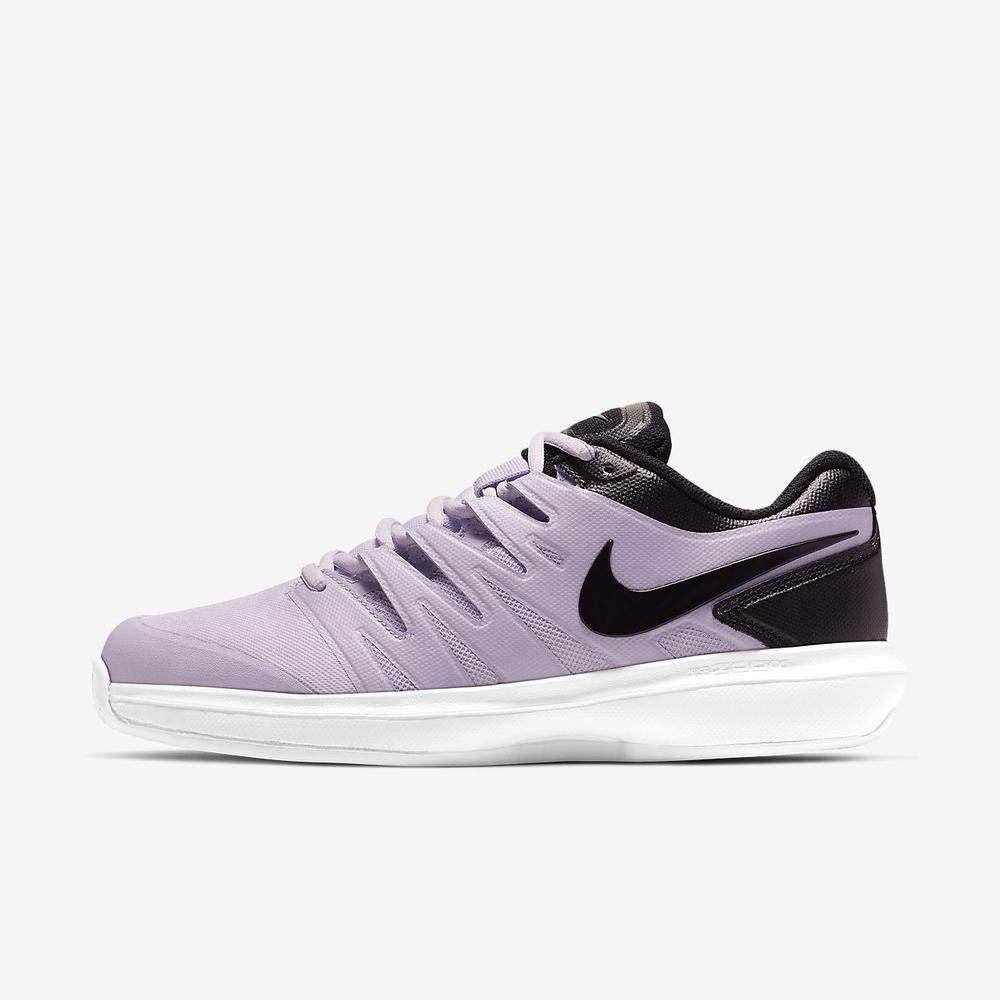 MultiCouleure (Oxygen violet noir blanc 500) Nike W Air Zoom Prestige HC, Chaussures de Tennis Femme 44.5 EU