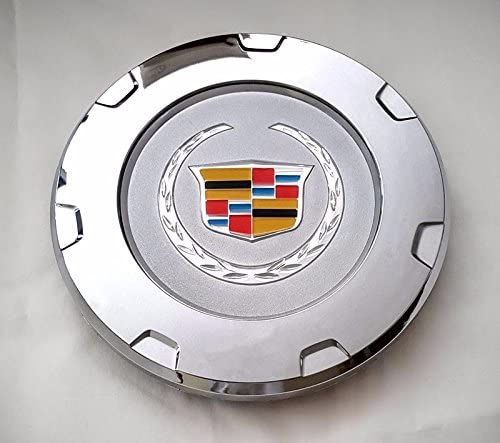 "1 pc 2007-2014 CADILLAC ESCALADE 22/"" WHEELS CHROME CENTER HUB CAP COLOR LOGO NEW"