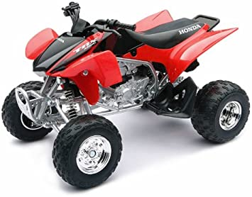 2007 ATV Honda TRX 450R [NewRay 42863A], Rojo/Negro, 1:12 Die ...