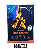 Instafire Granulated Fire Starter, All Natural, Eco-Friendly, Lights up to 120 Total Fires in Any Weather, Awarded 2017 Fire Starter Of The Year, 30 Pk