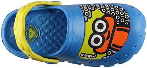 Coqui Kids Stoney Clog Sea Blue/Citrus