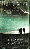 They Never Came Home (Laurel-Leaf Books)