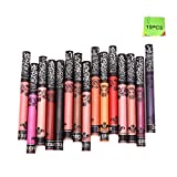 15 Colors Long Lasting Waterproof Soft Matte Liquid Lipstick Pencil Cosmetic Lip Gloss Set(15pcs)