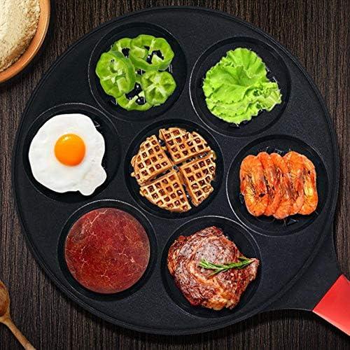 letaowl Poêles à Frire Poêle À Frire Antiadhésive Petit-déjeuner Frit Smiley Face Animal Moule Crêpe Omelette