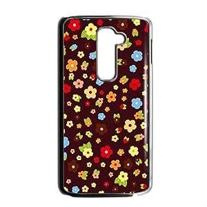 Colorful Distinctive Floral Phone Case for LG G2