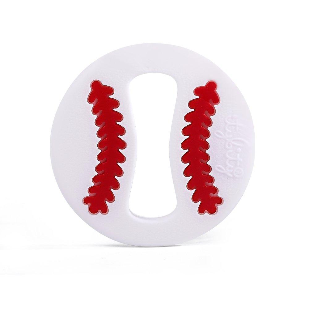 Amazon.com: Juguete de dentición para bebé con clip de ...