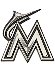 MLB Florida Marlins Chrome Automobile Emblem