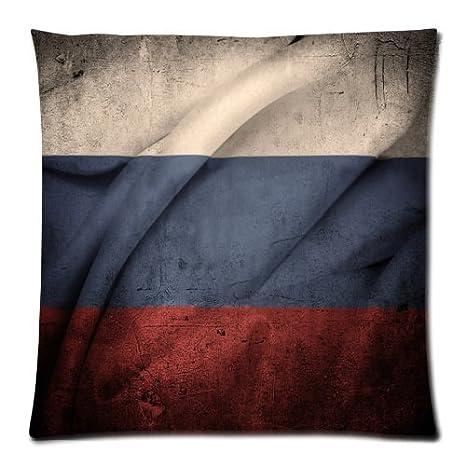 Vintage bandera de Rusia manta funda de almohada sofá cama ...