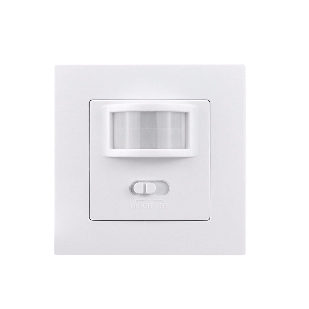 Infrared PIR Motion Sensor Switch, YUIOP Wall PIR Motion Sensor Light Switch,On/Off and PIR Switch,Occupancy Sensor Switch, For Stairs Corridor Kitchen