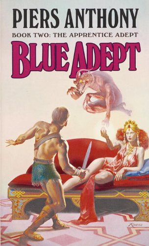 Blue Adept (Apprentice Adept Book 2) by [Anthony, Piers]