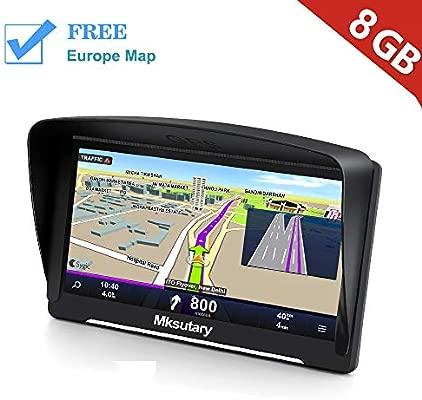 GPS para Coche con Pantalla Táctil HD de 7