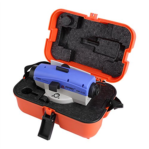 Optical Level, 32X Optical Level Self-Leveling Tool Excellent Accuracy Engineering Measuring Instrument by Estink