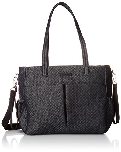 Vera Bradley Women's Denim Ultimate Baby Diaper Bag, Denim Navy