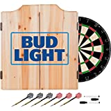 Trademark Global Bud Light Dart Cabinet Includes Darts and Board