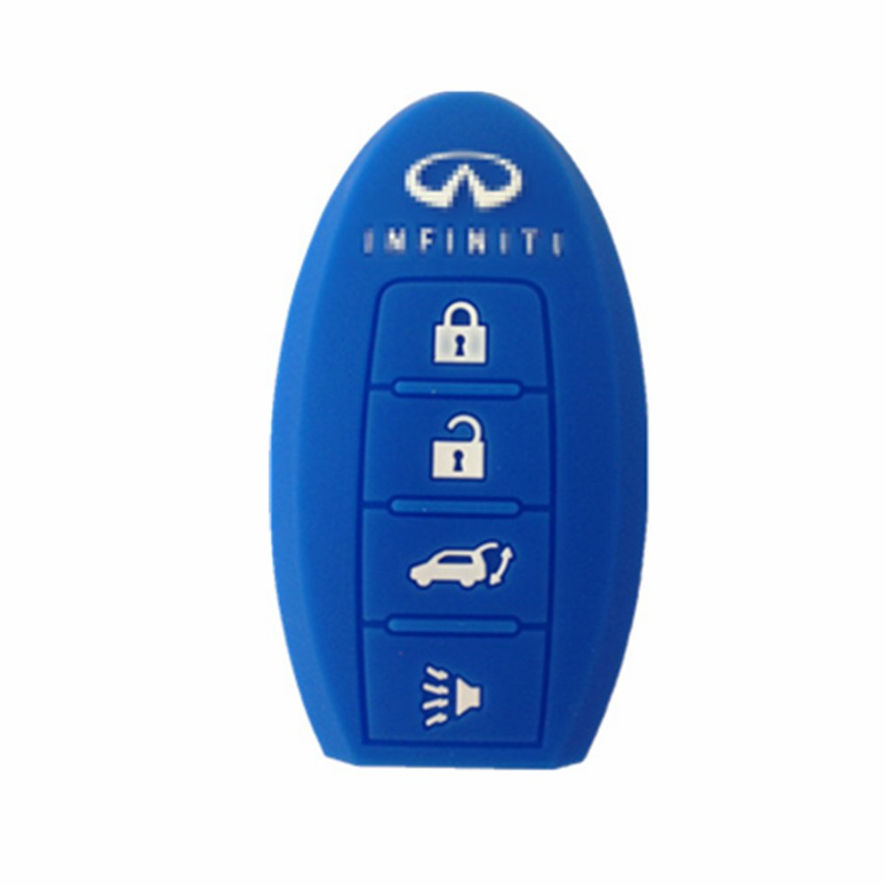 Silicone Fob Cover Key Jacket For Infiniti Ex35 Fx35 Smart Fx50 G35 G37 M35 M35h M45