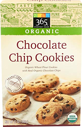 (365 Everyday Value, Organic Chocolate Chip Cookies, 12 Ounce)