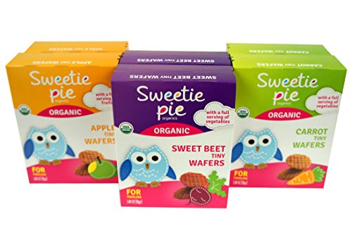 Sweetie Pie Organics Tiny Wafers